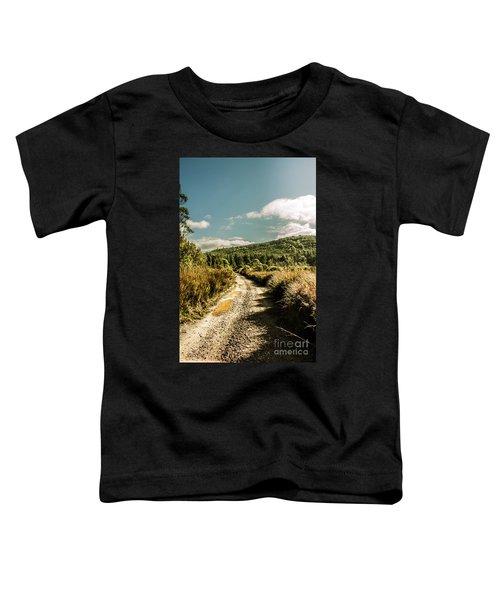 Zeehan Dirt Road Landscape Toddler T-Shirt