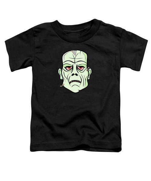 Zombie Head Toddler T-Shirt