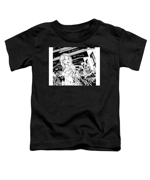 Zombies Vs Cheerleaders Toddler T-Shirt
