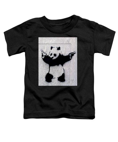 Banksy Panda Toddler T-Shirt