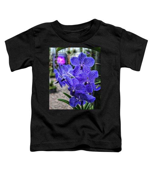 Deep Purple Orchid Toddler T-Shirt