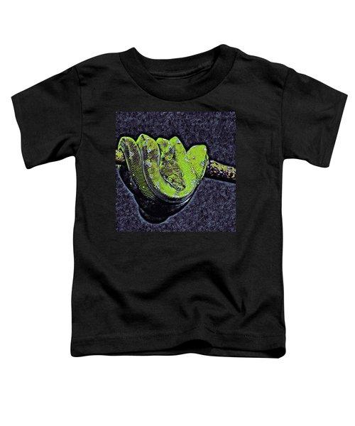 Emerald Tree Boa Toddler T-Shirt