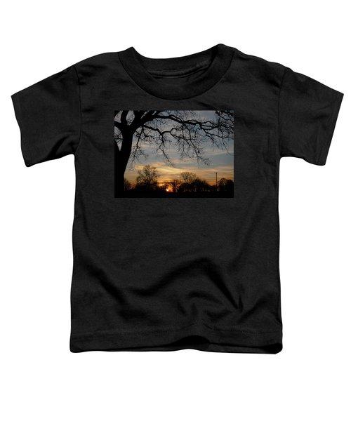 Evening Fades Away Toddler T-Shirt
