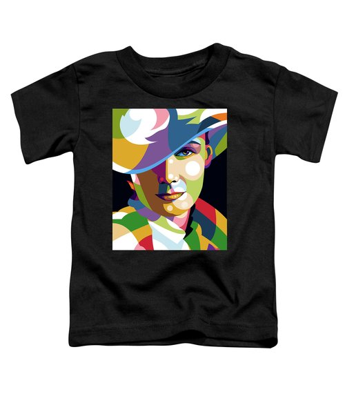 Greta Garbo Toddler T-Shirt