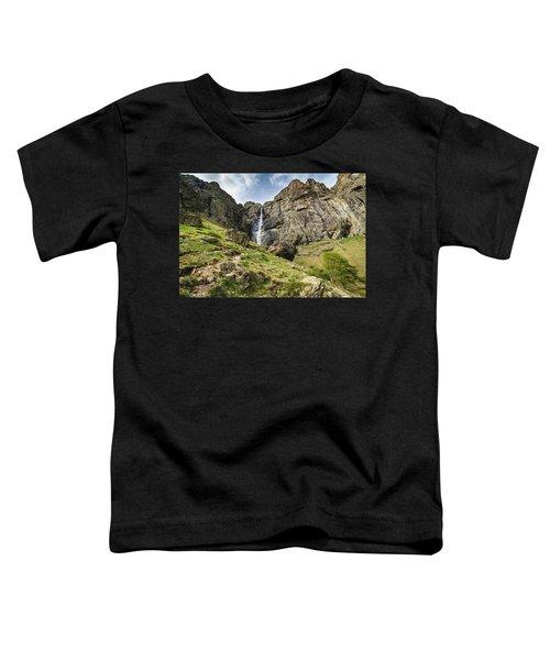 Raysko Praskalo Waterfall, Balkan Mountain Toddler T-Shirt