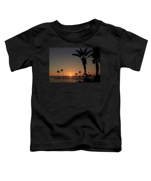 San Clemente Sunset Toddler T-Shirt
