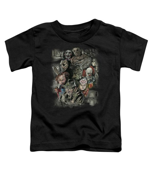 Horror Movie Murderers Toddler T-Shirt