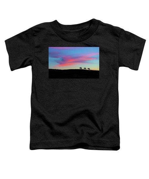 3 Horsemen Toddler T-Shirt