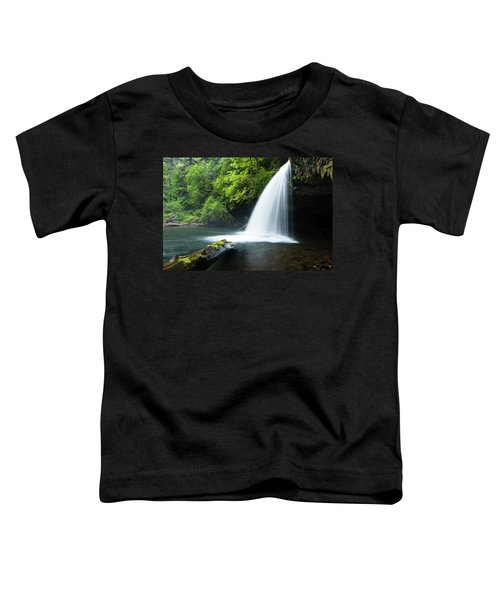 Waterfall In A Forest, Samuel H Toddler T-Shirt