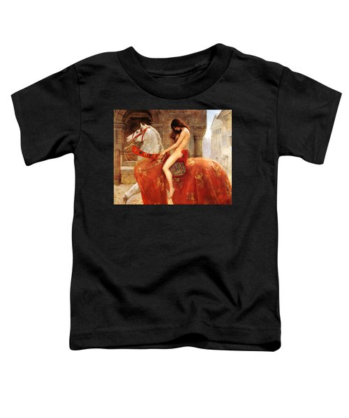 Lady Godiva Toddler T-Shirt