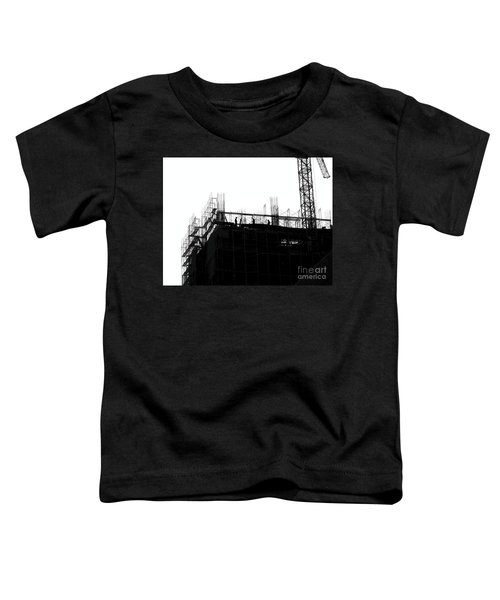 Large Scale Construction In Outline Toddler T-Shirt