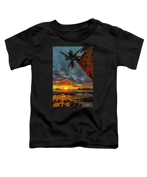 A Typical Wednesday Sunset Toddler T-Shirt
