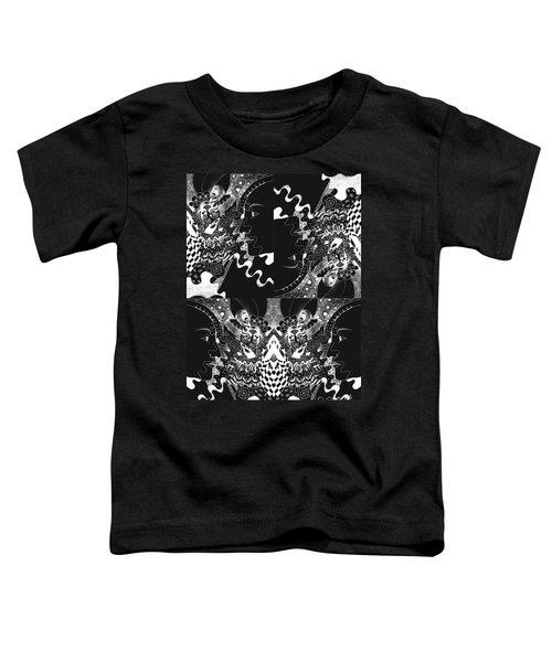 About The I In The Sky - Night Vision Toddler T-Shirt
