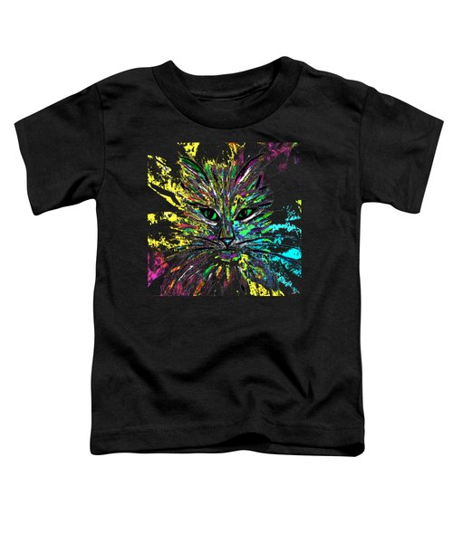Abstract Cat  Toddler T-Shirt