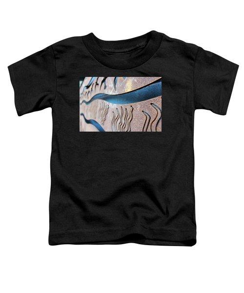 Abstract Lake Patricia Sign 1 Toddler T-Shirt