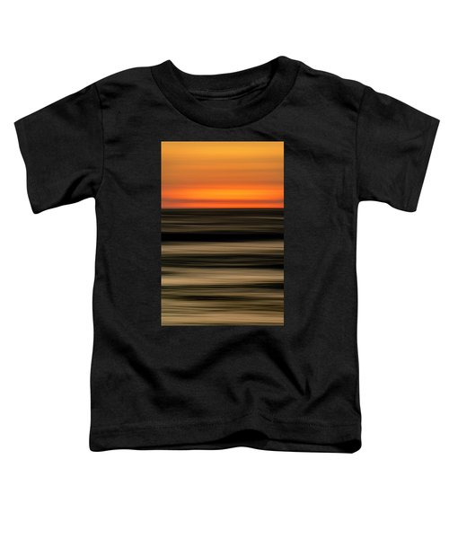 Abstract Sunset Toddler T-Shirt