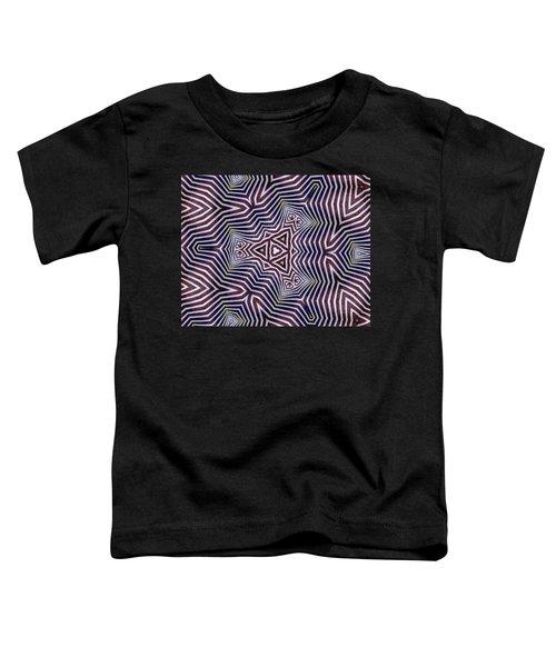 Abstract Zebra Design Toddler T-Shirt
