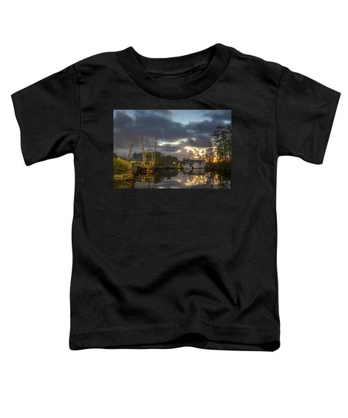 After The Storm Sunrise Toddler T-Shirt
