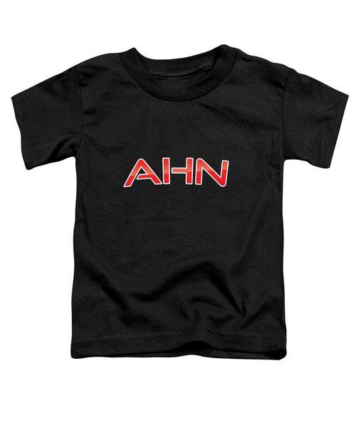 Ahn Toddler T-Shirt