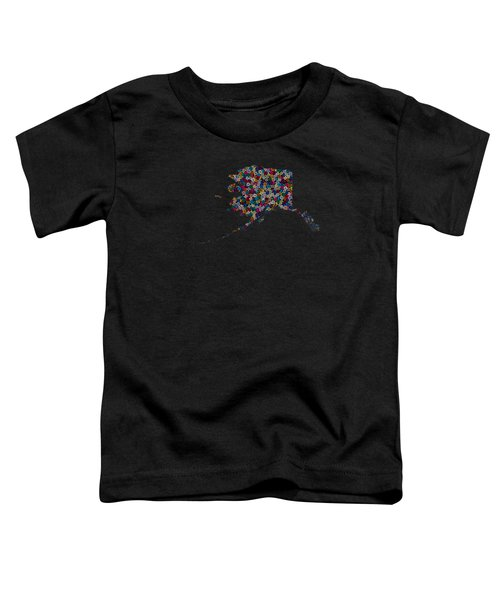 Alaska Map - 2 Toddler T-Shirt