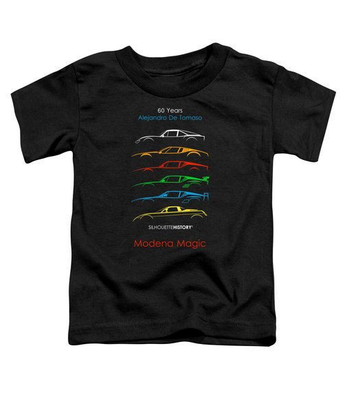 Alejandro's Sports Car 60 Silhouettehistory Toddler T-Shirt