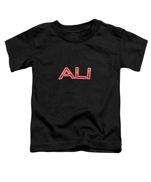 Ali Toddler T-Shirt