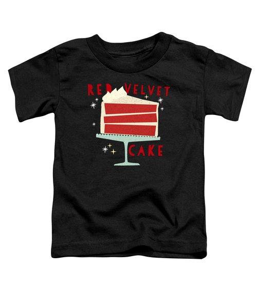 All American Classic Red Velvet Cake Toddler T-Shirt