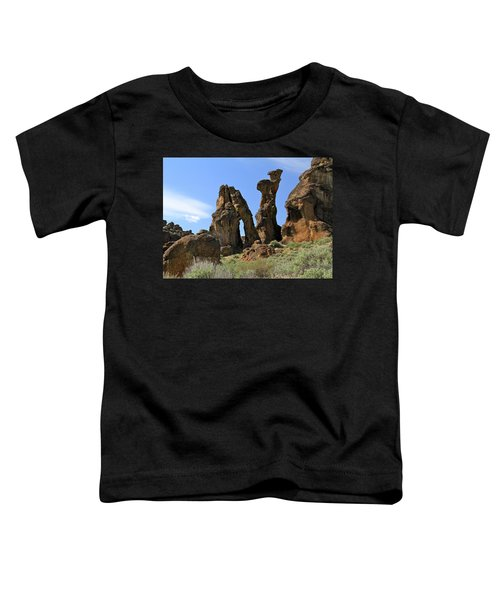 Arches Hoodoos Castles Toddler T-Shirt