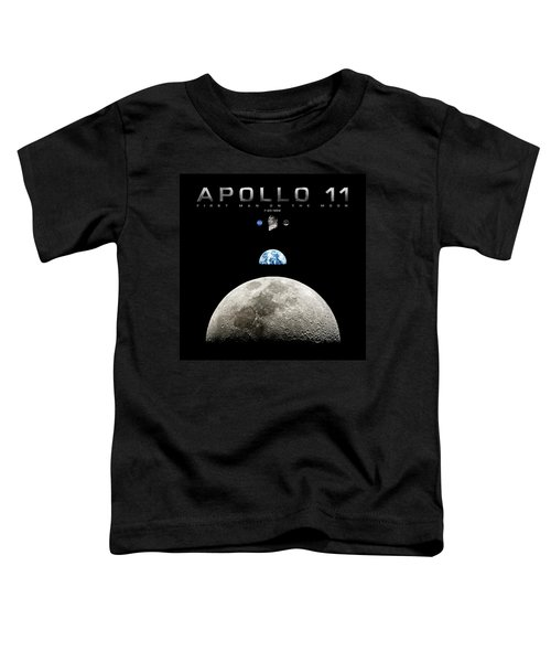 Apollo 11 First Man On The Moon Toddler T-Shirt