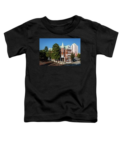 Augusta Cotton Exchange - Augusta Ga Toddler T-Shirt