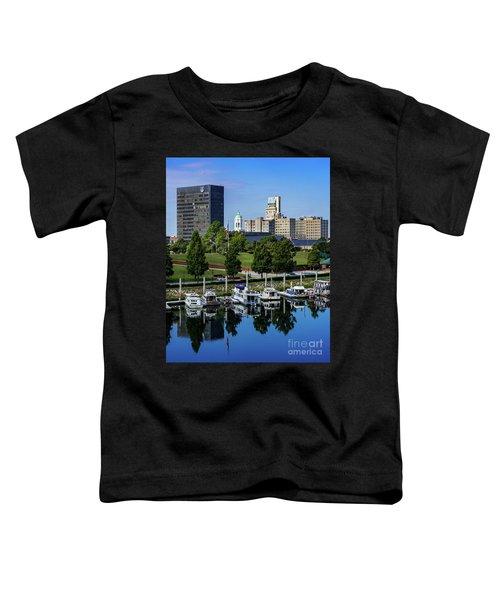 Augusta Ga Savannah River 3 Toddler T-Shirt