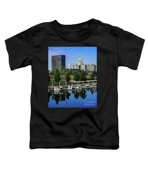 Augusta Ga Savannah River 3 Toddler T-Shirt