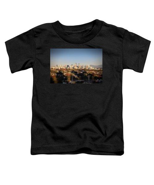 Autumn At The City Toddler T-Shirt