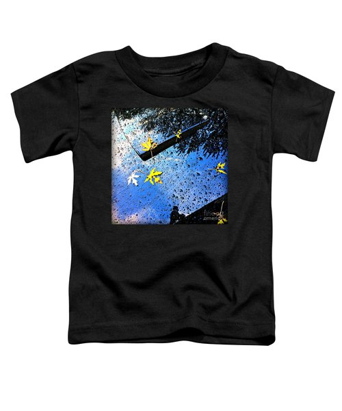Autumn Raindrops Car Reflections Toddler T-Shirt