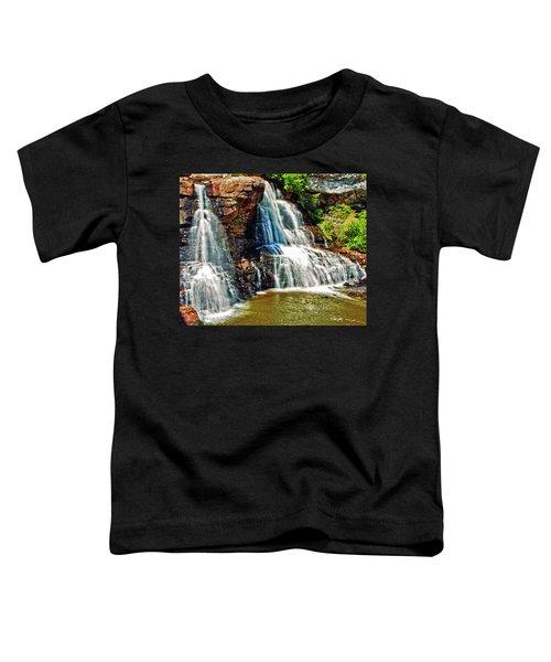 Balckwater Falls - Closeup Toddler T-Shirt