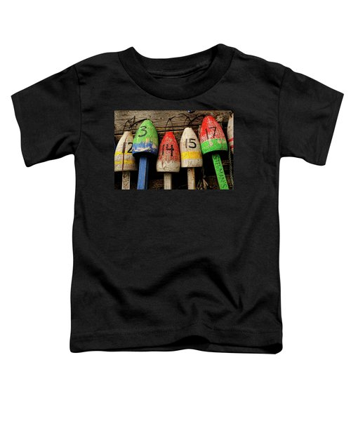 Bar Harbor Bouys Toddler T-Shirt