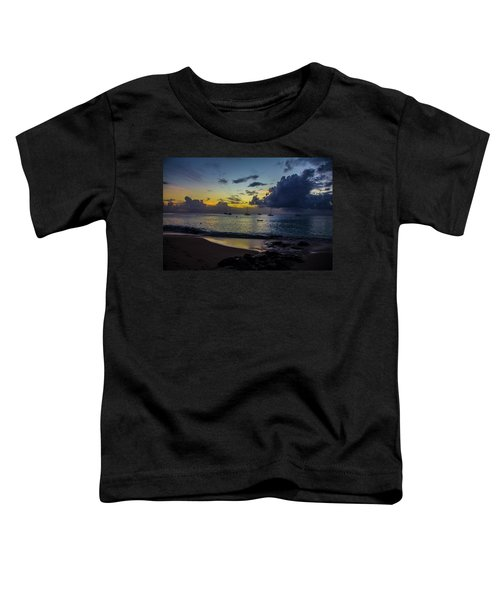 Beach At Sunset 3 Toddler T-Shirt