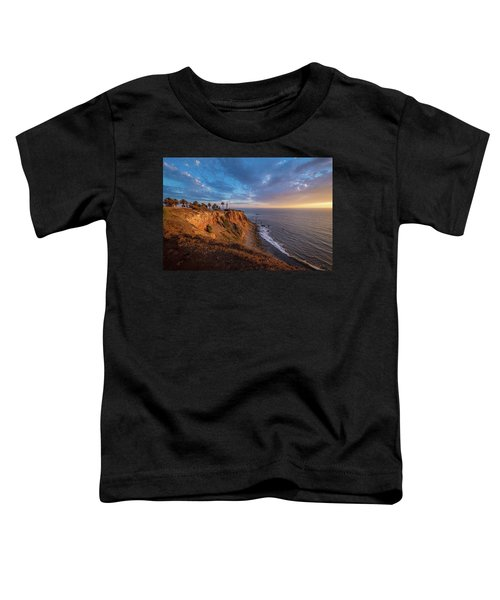 Beautiful Point Vicente Lighthouse At Sunset Toddler T-Shirt