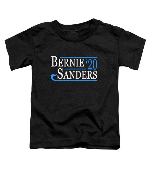Bernie Sanders Blue Wave 2020 Toddler T-Shirt