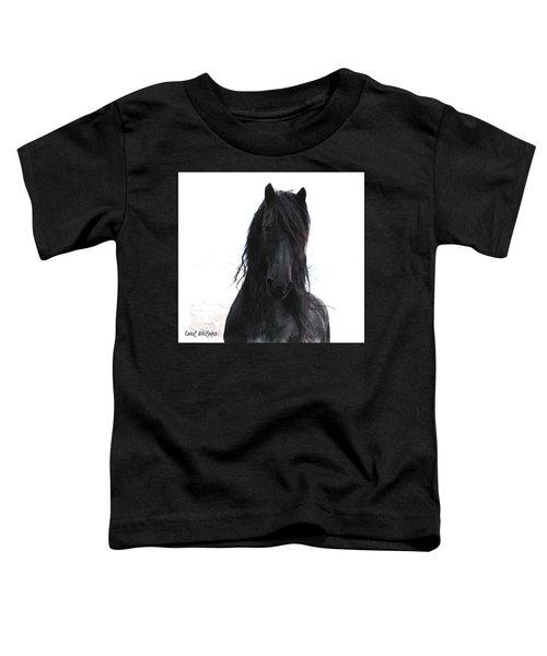 Black Pearl Gaze Toddler T-Shirt