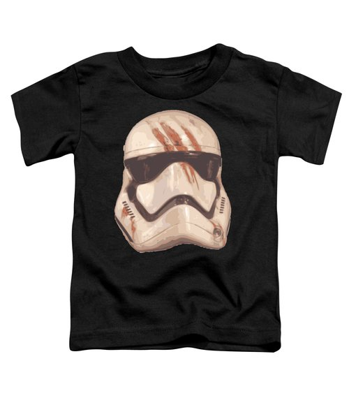 Bloody Helmet Toddler T-Shirt