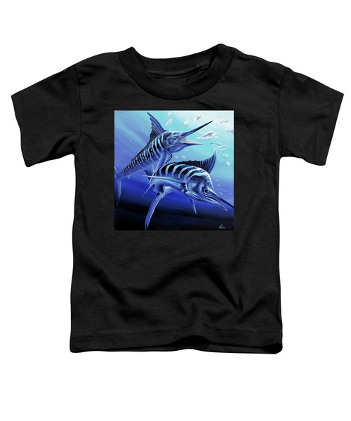 Blue Marlins Toddler T-Shirt