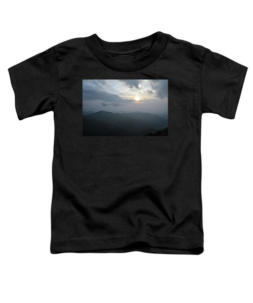Blue Ridge Parkway Sunset Toddler T-Shirt