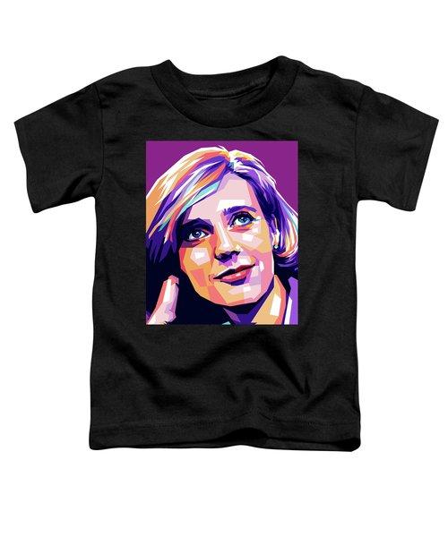 Blythe Danner Pop Art Toddler T-Shirt