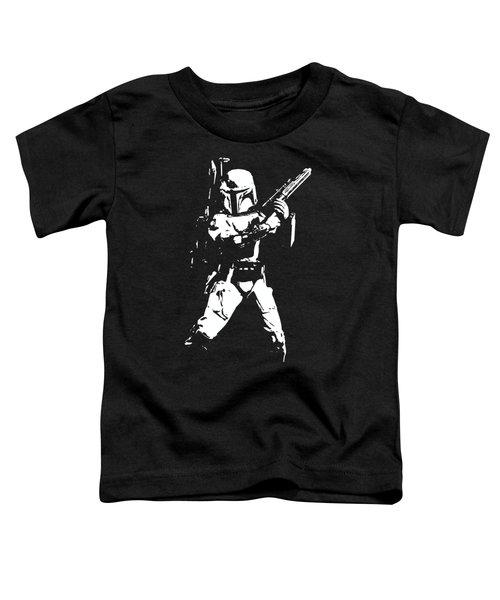Boba Fett Minimalistic Pop Art Toddler T-Shirt