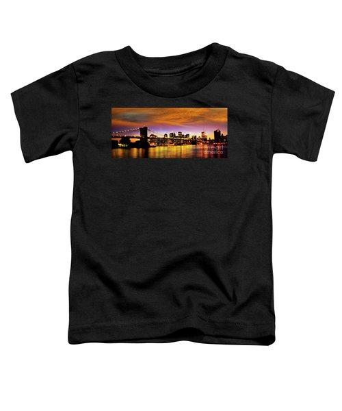 Bridging The East River Toddler T-Shirt