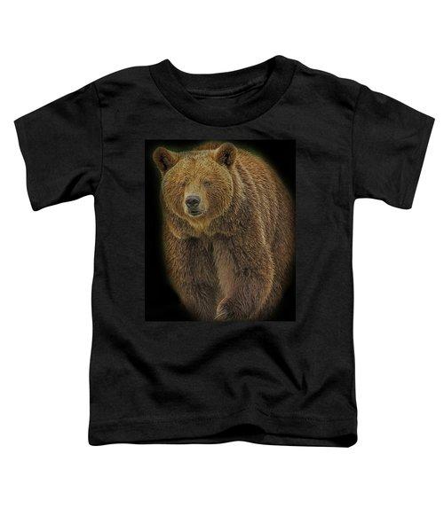 Brown Bear In Darkness Toddler T-Shirt