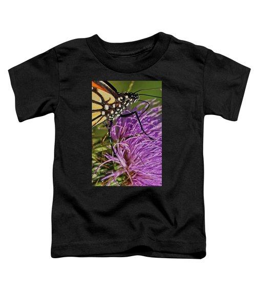 Butterfly Closeup Vertical Toddler T-Shirt
