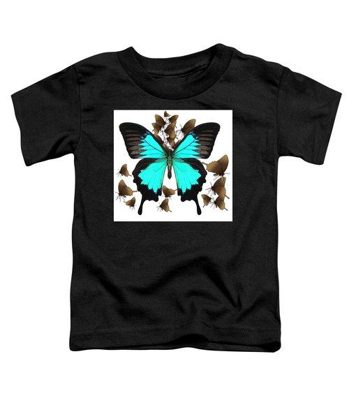 Ulysses Butterfly All A Flutter Toddler T-Shirt