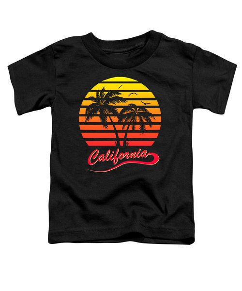 California Sunset Toddler T-Shirt